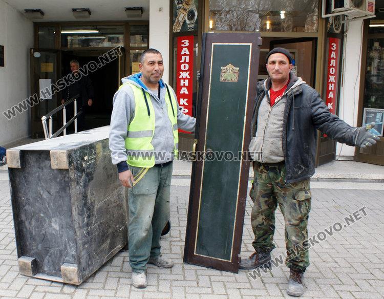 Тестът за висши престъпници – каса на Бурджев, влиза в музея в Хасково