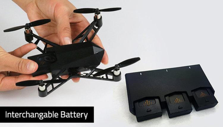 Kudrone - нано дрон с GPS проследяване и 4К видео (видео)