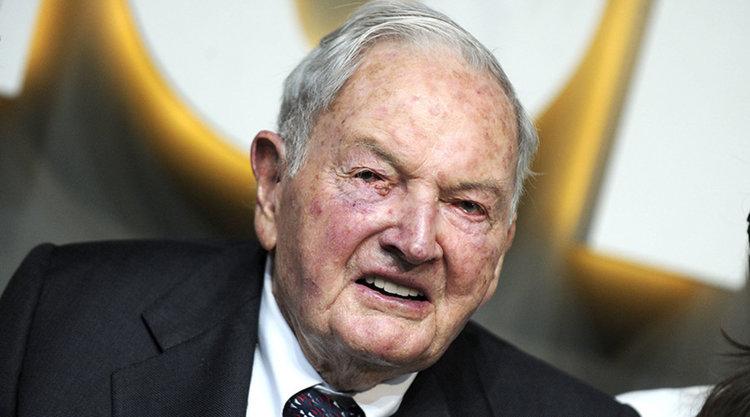 На 101 години почина Дейвид Рокфелер