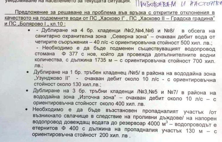 Делян Добрев: Спешно отпуснете 2 млн. за водата в Хасково!