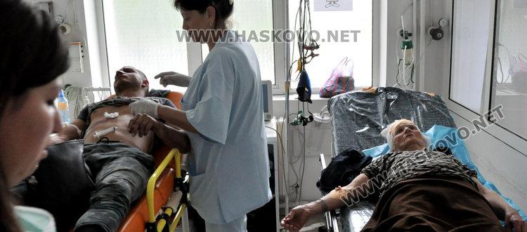 """Моторист и възрастна жена в болница след катастрофа на """"Дунав"""" и """"Раковски"""""""