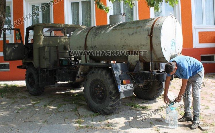 Не достигат водоноските за 11-те села в димитровградско с проблеми с питейната вода