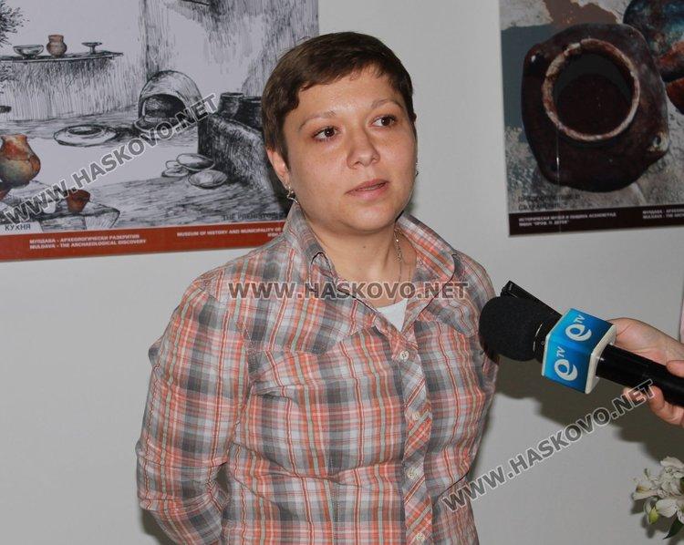 Запрянка Кръстева от музея в Асеновград разказа за мобилната изложба
