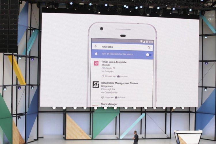 Google представи новата си услуга за намиране на работа (видео)