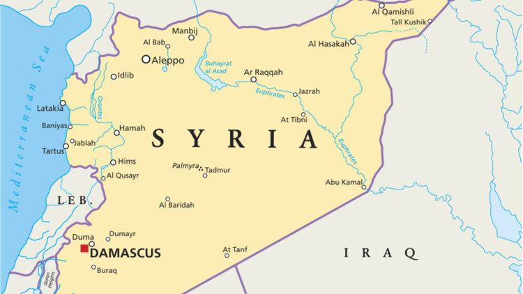 Американски въздушен удар по  по проправителствен отряд в Сирия