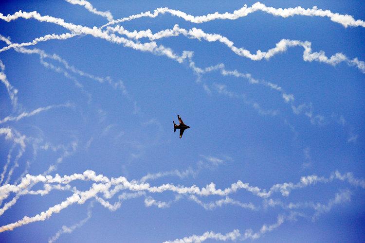 Китайски изтребители прихванаха американски WC-135 Constant Phoenix