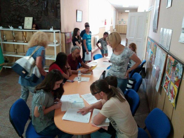 За пръв път седмокласници подават документи в Първомай