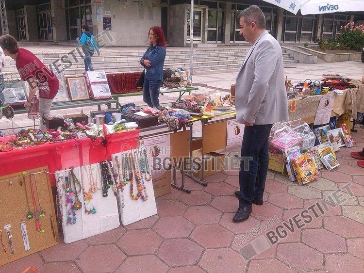 Благотворителният базар за Атанаска в Девин започна, бъгитата са на старт