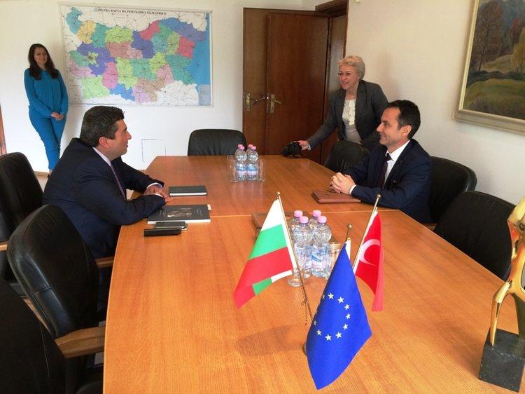 Областният управител се срещна с генералния консул на Турция в Пловдив