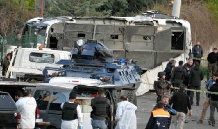 Мощен взрив в Турция