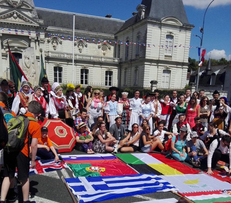 Хасковска група във Франция впечатли европейците