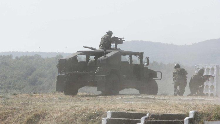 Военни от 4 държави се включиха в учението Eagle sentinel 17