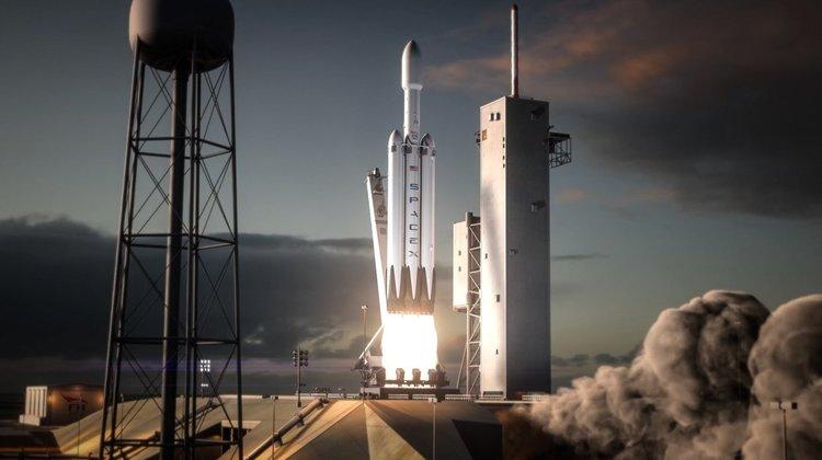Илон Мъск показа изстрелването на Falcon Heavy (видео)