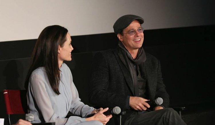Анджелина Джоли и Брад Пит се събраха?