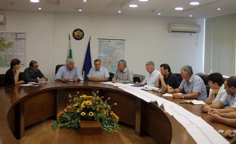 Работна среща за реконструкциите на Околовръстното и Пловдив - Асеновград