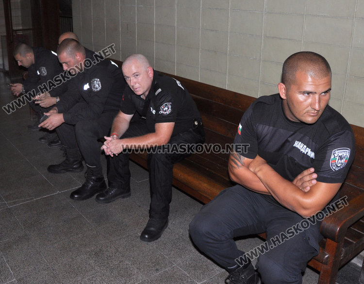 Жандармеристите дадоха показания в съда