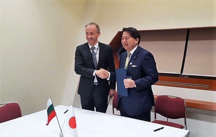 Подписахме Меморандум за научно и технологично сътрудничество с Япония