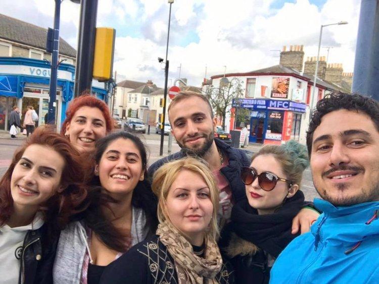 В младежки обмен в град Грейт Ярмут, Великобритания участва Ивелина Тонева от Детски и младежки център, снимка -личен архив