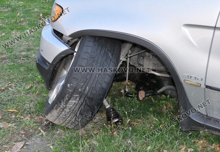 Мистериозно: зарязаха катастрофирал джип БМВ в Бадема