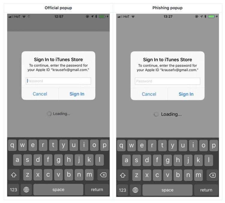 Как се краде AppleID от iPhone и как да се предпазим