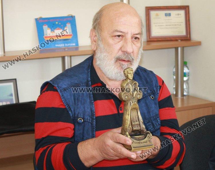 Цвятко Сиромашки е автор на новата статуетка, която ще получат наградените актьори