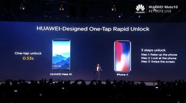 Нuawei разкри колко по-добър е Mate 10 от iPhone X