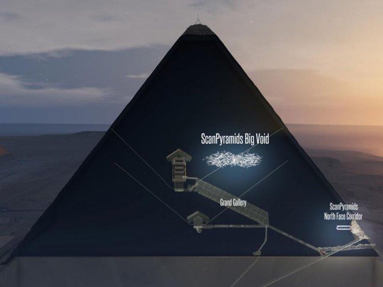 Откриха огромна тайнствена кухина в Хеопсовата пирамида