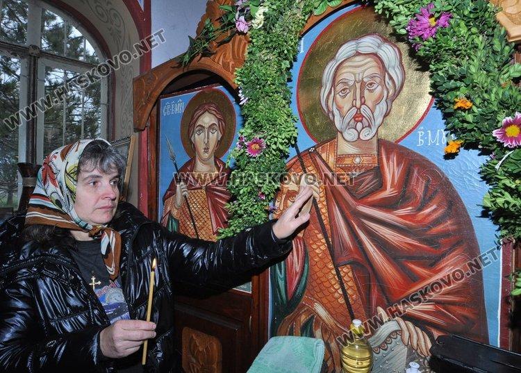 """Свети Мина почетоха днес миряни в параклиса, намиращ се в местността """"Дурхана"""""""