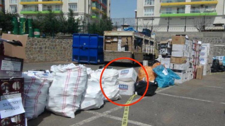 Контрабандни цигари, заловени в Диарбекир. Сн.: Биволъ