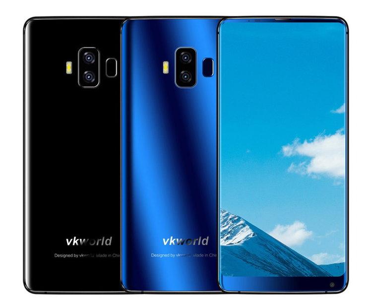 Vkworld S8 – смартфон 18:9 с най-голямата батерия