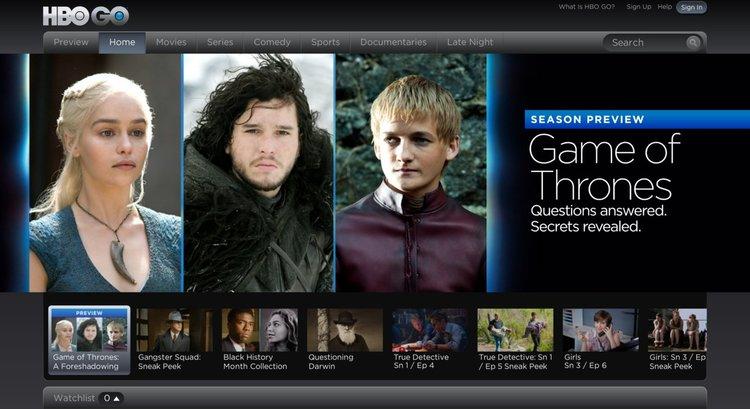 Вече е възможен директен абонамент за HBO GO