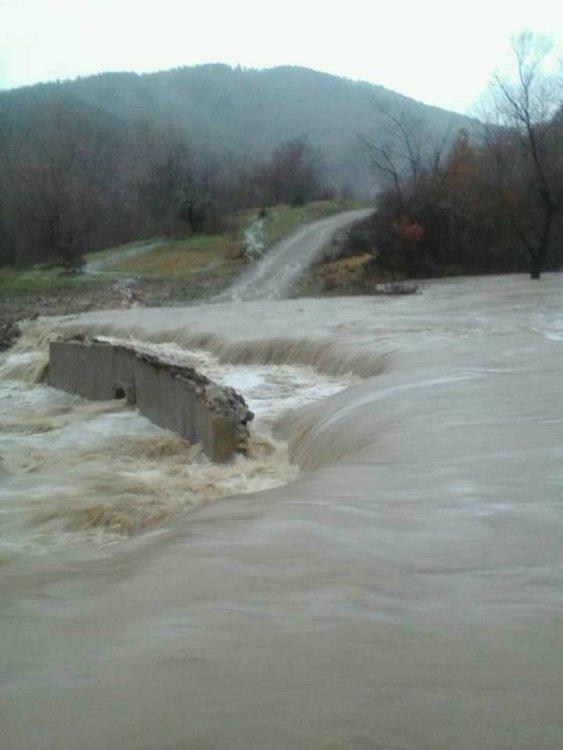 Поройният дъжд нанесе щети по инфраструктурата на община Кирково
