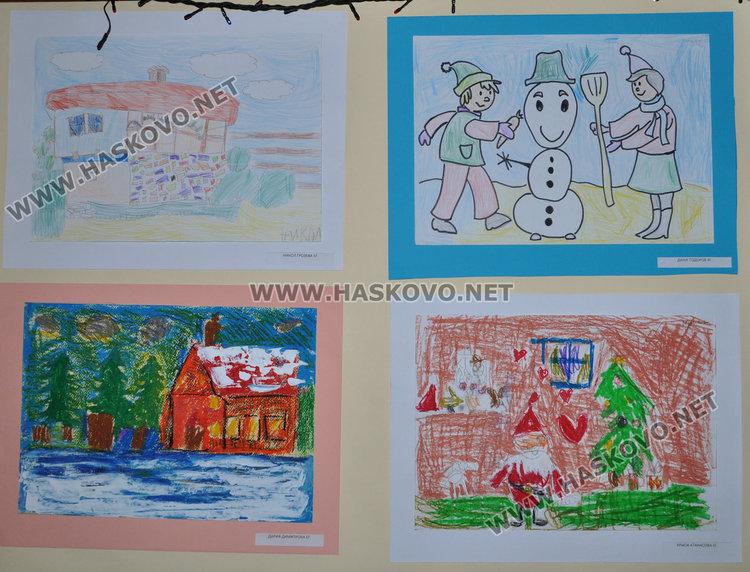 """Млади художници от """"Пастело"""" показват 150 рисунки и свещници в библиотеката"""