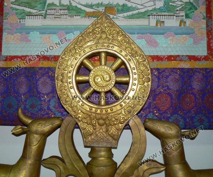 """Преди 7 години изложбата """"Изкуствата на Тибет"""" бе  дарена на нашия музей от Китайското посолство"""