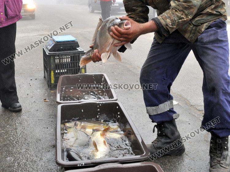 Спипаха двама тротоарни търговци на риба, глобите до 2 бона