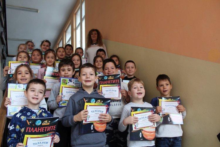 Победителите от 1 клас