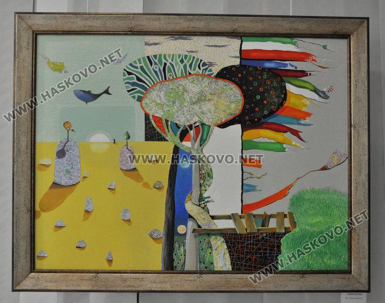 Хасковските художници подредиха 47 платна в Коледна изложба