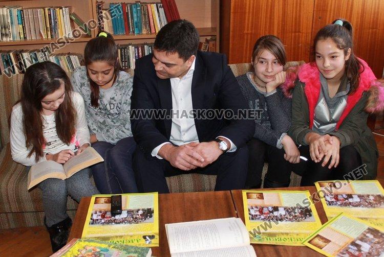 Седмицата на четенето отбелязаха алековци, гостува им кметът