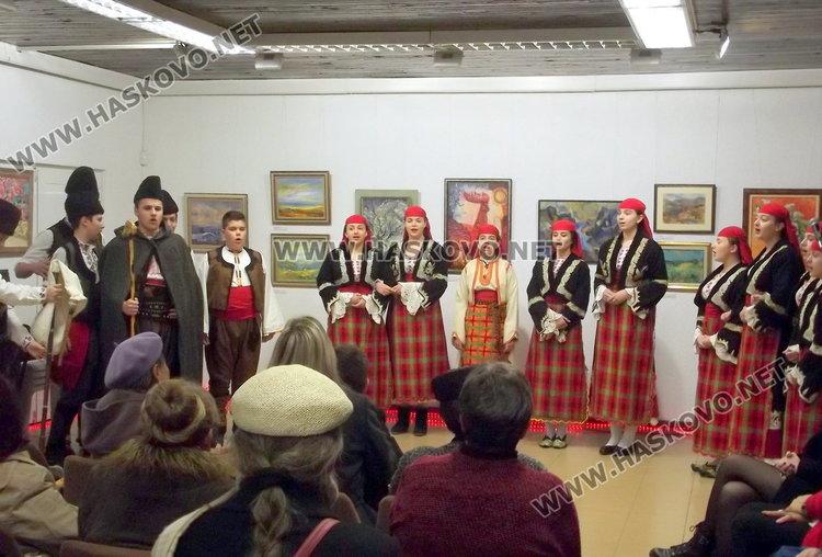 Коледна изложба и празнична програма в КДК Смолян