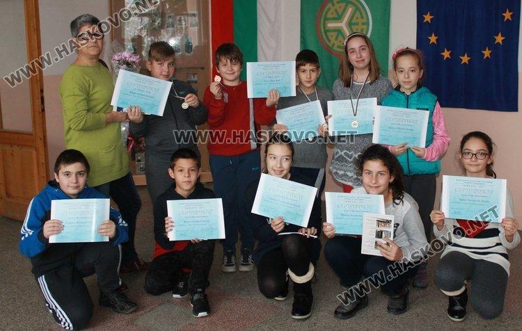 """10 каравеловци с медали от националното състезание """"Моята родина"""""""