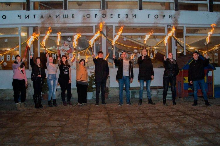 """99 години театър""""Изгрев"""" честваха читалищните дейци в Райково, снимките са авторство на Красимира Георгиева"""