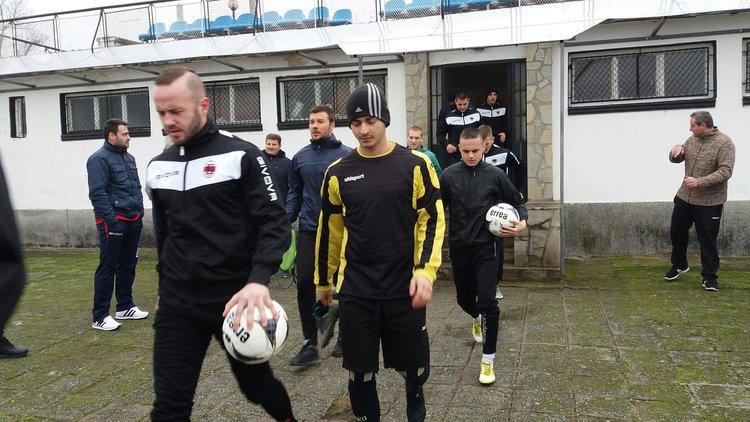 """Андрей Атанасов изведе """"Борислав"""" на първа тренировка"""