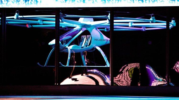 CES 2018: Intel представи летящ електромобил