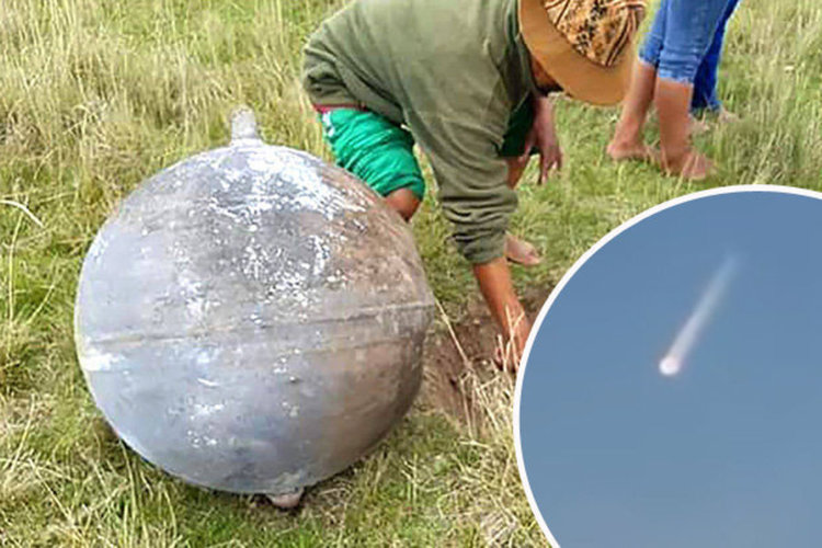Загадката на металните топки, които паднаха от небето в Перу (видео)
