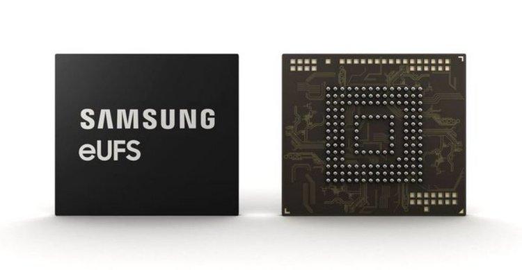 Samsung започна производство на 256GB eUFS памет