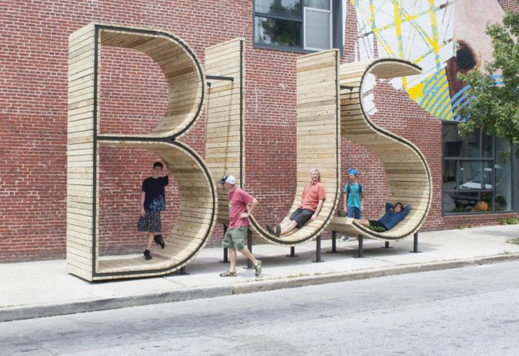 Артист създаде тази спирка в Балтимор