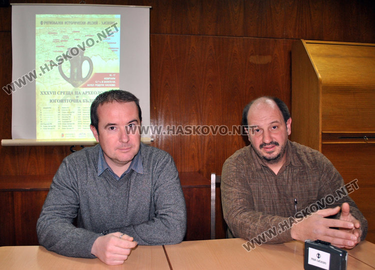 Пенко Добрев и Станислав Илиев