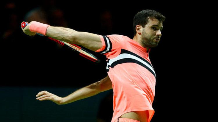 Григор Димитров отпадна от турнира на двойки в Индиън Уелс