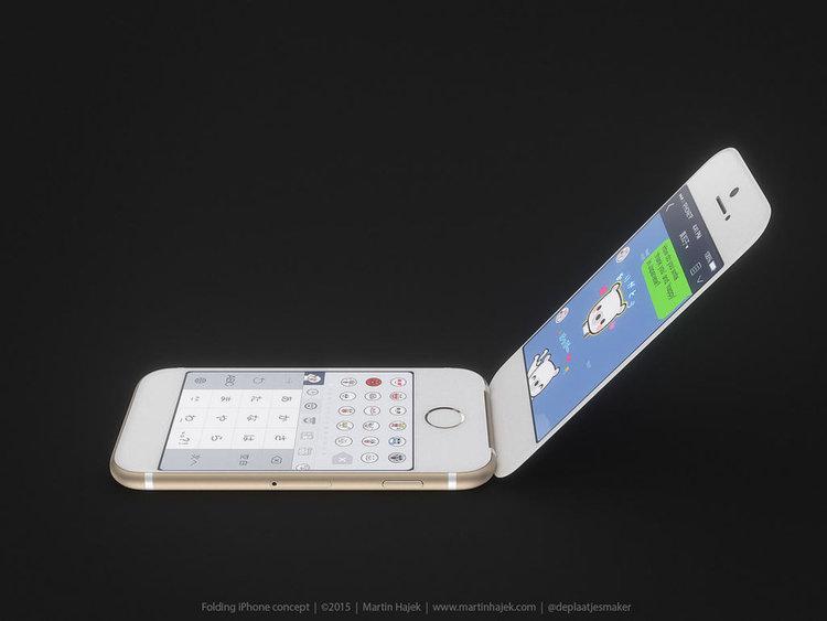 В очакване потребителите генерират множество идеи как ще изглежда флип iPhone