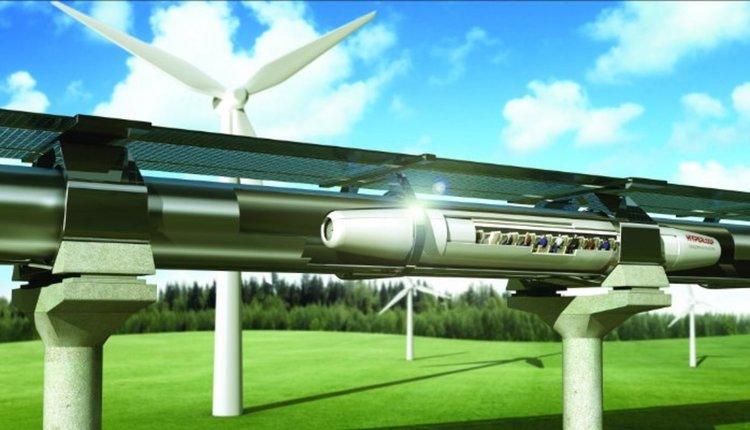 Започна изграждането на скоростното трасе на Hyperloop във Франция